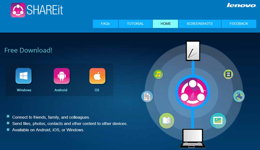 shareit software for windows 8 pc free download