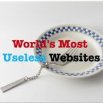 World's Most Useless Websites And Pointless Websitess On The Internet