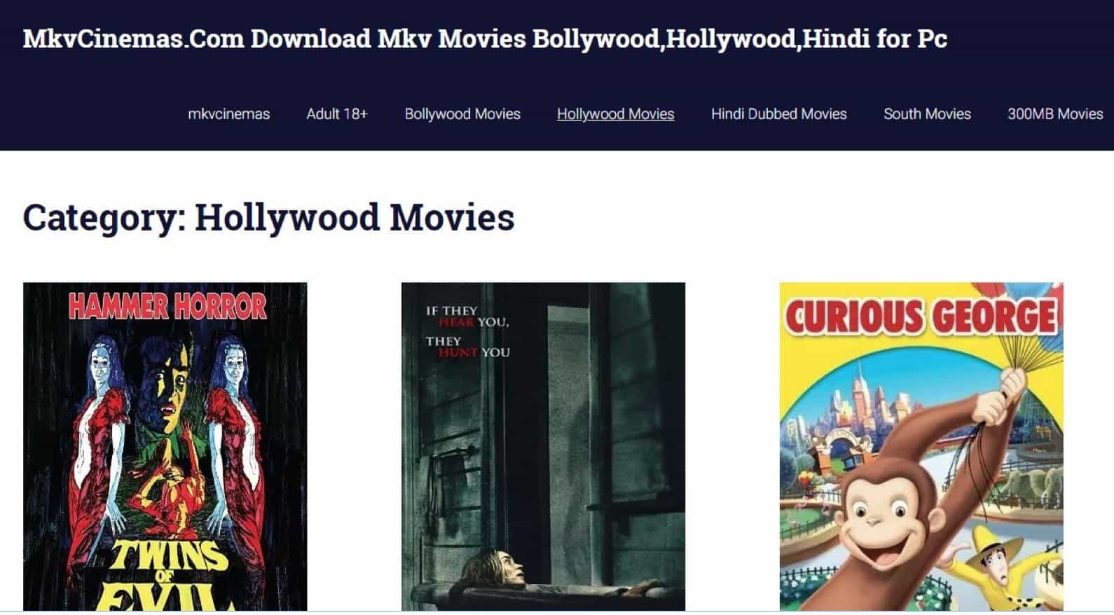 50+ Free Movie Download Sites Without Registration or
